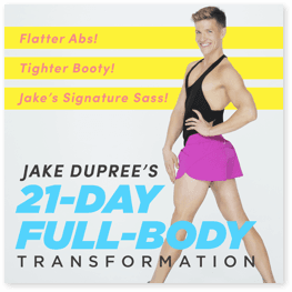 Jake Dupree's 21-Day Full-Body Transformation